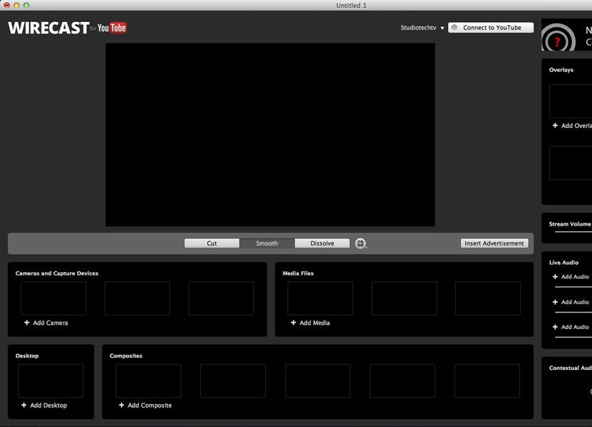 YouTube Liveオススメの配信ツール・Wirecast for YouTubeを使って配信してみよう!
